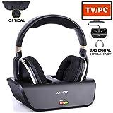Kabellose Fernseher Funkkopfhörer mit Optischer Funktion Over Ear Digitales Kopfhörer mit...
