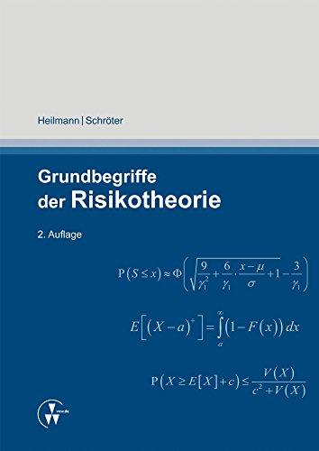 Grundbegriffe der Risikotheorie (German Edition)