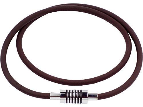 Preisvergleich Produktbild Powerband, Power Halskette, Balance smartLABpower London Halskette Schwarz Größe 50 CM