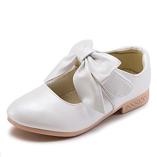 De Lazer Primavera Baixos Salto De De Princesa Meninas Branco Sapatos Sapatos Com Bloco Proa 6a7x0q4