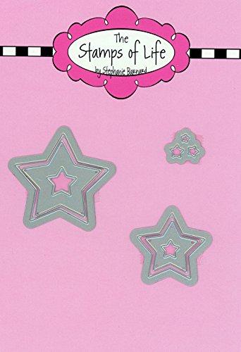 Die Briefmarken Of Life Star sterben Schnitte für Karte machen und Scrapbooking von Stephanie Barnard-4. Juli stirbt