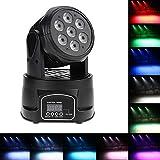 Docooler RGBW 4in1 LED Stadiums Effekt/Bewegliches Hauptlicht, Wash Beleuchtung,...