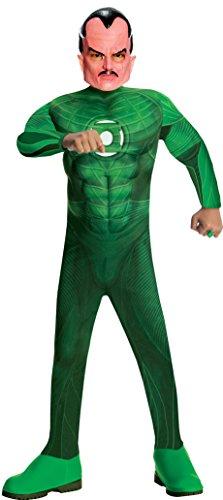 Kostüm Green Lantern Sinister muskulösen (Lantern Green Kinder Kostüme)