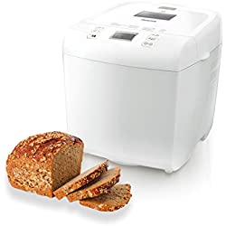 Philips Hd9015/30 Daily Collection Macchina del Pane, 550 W, 1 kg, Timer Integrato, Bianco