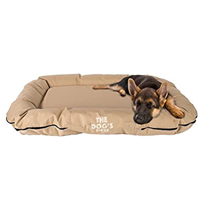 The Dog's Bed, Premium Orthopedic Waterproof Memory Foam Dog Beds, 5 Sizes/7 Colours: Eases Pet Arthritis, Hip Dysplasia & Post Op Pain, Quality Therapeutic Supportive Bed, Washable Covers from Red Kite Store