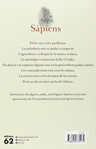 DESCARREGAR (Descargar) en PDF y EPUB Gratis y Complert el llibre Sàpiens (edició rústica): Una breu història de la humanitat de Yuval Noah Harari