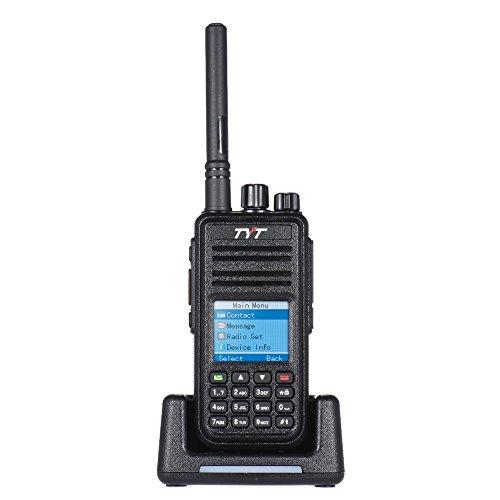 TYT MD-380Radio DMR digitale 2000mAh nero