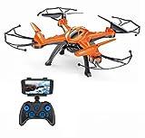 Drone di Ritorno Automatico, Drone FPV RC con Telecamera HD WiFi grandangolare...