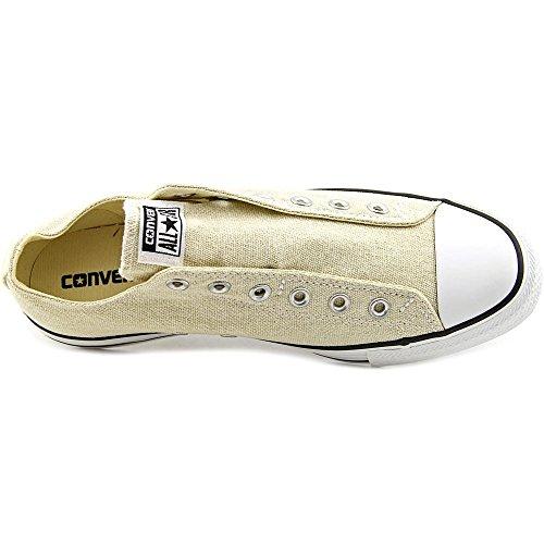 Asics Chuck Taylor Core Lea Ox, chaussures de course Homme Seashell/Converse White/Black