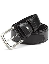 Exklusiver Gürtel, Tresorgürtel, Gürtel mit Safe in schwarz, 95 - 125 cm