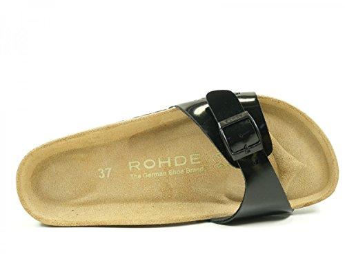 Rohde Alba 5630 Infradito donna Schwarz