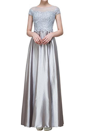 Missdressy -  Vestito  - linea ad a - Donna Argento