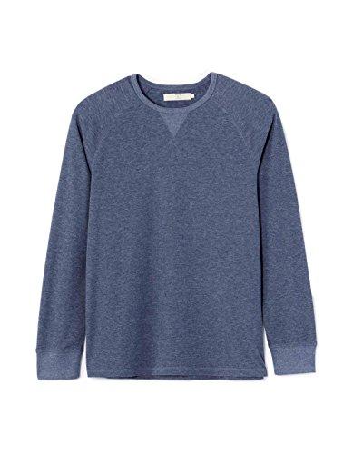 Celio Herren T-Shirt Febelge Blau - Blau (Indigo)