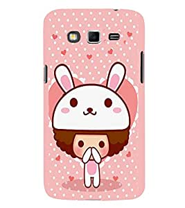 EPICCASE Bunny me Mobile Back Case Cover For Samsung Galaxy Grand Neo (Designer Case)