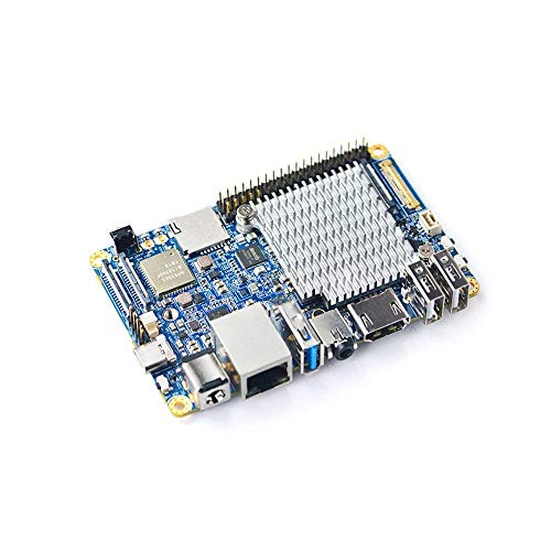 SmartFly info NanoPC-T4 Open Source RK3399 Arm Development Board DDR4 RAM  4GB Gbps Ethernet,Support Android and Ubuntu, AI and Deep Learning