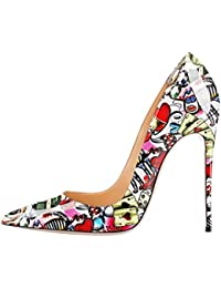 Amazon.it  Decollete Donna Bianca - Includi non disponibili   Scarpe  Scarpe  e borse c10e8e04e40