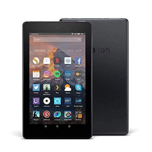 Fire 7-Tablet, 8 GB, Schwarz, mit Spezialangeboten (vorherige Generation – 7.) - Fall 2 Kindle-version
