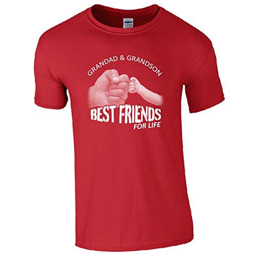 UKPrintwear Herren T-Shirt Rot