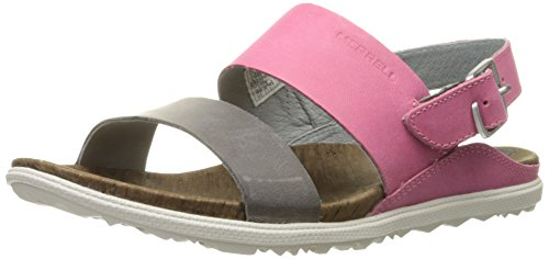 Merrell Around Town Backstrap, Sandales  Bout ouvert femme Rose