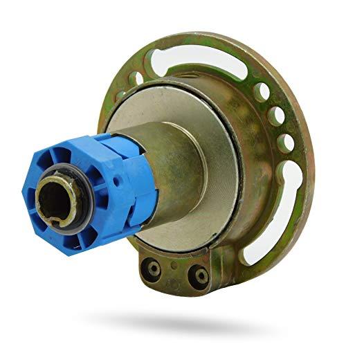 Kegelradgetriebe Rolladengetriebe Kurbelgetriebe Rollladengetriebe   Untersetzung 4:1  Freilauf Rechts   Innenvierkant 6 mm   SW60