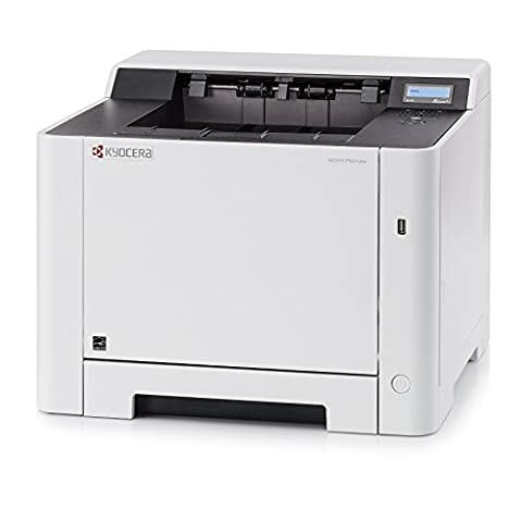 KYOCERA ECOSYS P5021cdw Colour Laser Desktop Printer A4 (Duplex printing 1200x1200 dpi, network connectivity, Ethernet, Gigabit-LAN, WiFi and Wi-Fi Direct, Apple AirPrint, Google Cloud Print, Mopria, USB 2.0 (Hi-Speed), Slot for optional