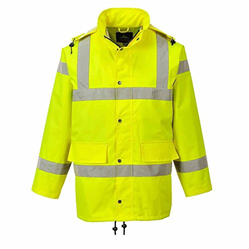 Sicherheitsgelb Atmungsaktive Jacke Größen bis zu 55