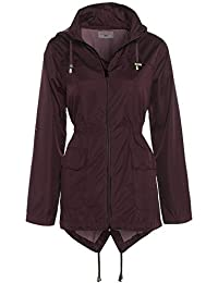SS7 Women's Raincoat, Burgundy, Navy, Sizes 8 To 16