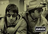 Salopian Sales - Stampa su poster A3 'Oasis - 2 - Noel & Liam Gallagher'