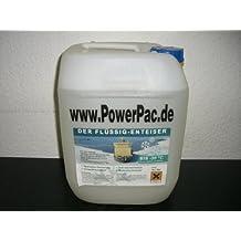 POWERPAC Flüssigtaumittelkanister 10ltr. passend für Flüssig Taumittel Behälter von Elektro-Schneeräumer ES230 - AKKUSCHNEERÄUMER AKKUSCHNEESCHIEBER SCHNEEFRÄSE SCHNEESCHILD