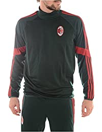 adidas AC Mailand TrainingTop ACM Milan Sweatshirt ,Wintergrün/Rot
