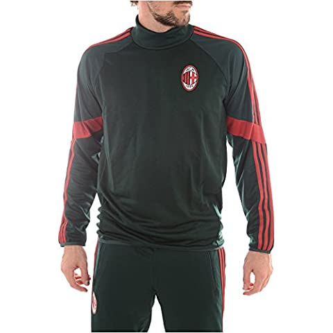 adidas AC Mailand trainingtop ACM Milan Sudadera Negro/Rojo, XXL