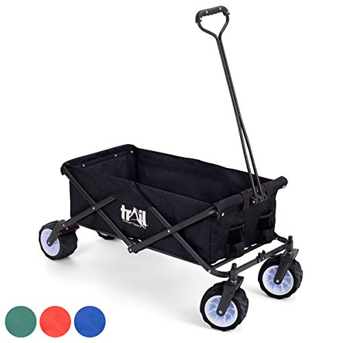 trail outdoor leisure Collapsible Portable Camping Wagon Trolley Folding Wheeled Festival Carry Cart