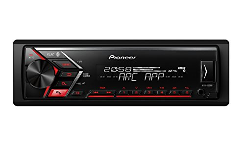 Pioneer MVH-S300BT - Autorradio, Color Negro