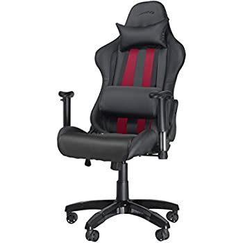 speedlink verstellbarer stuhl mit armlehnen regger gaming chair chefsessel f r gamer. Black Bedroom Furniture Sets. Home Design Ideas