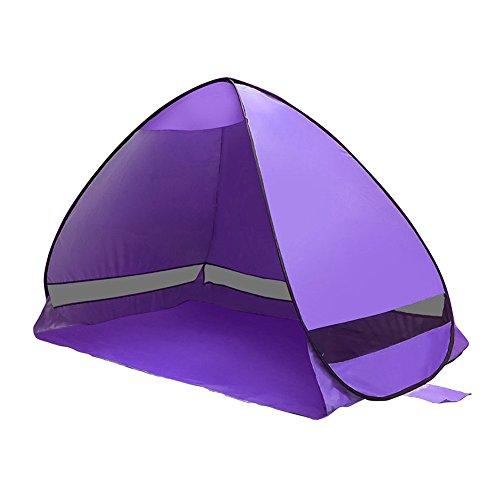 Cutogain Automatische Camping Strand Zelt Pop Up sofort öffnen Anti UV Sonnensegel Zelte Outdoor...
