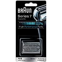 Braun Series 7 70S Cabezal de recambio para afeitadora eléctrica hombre, plata