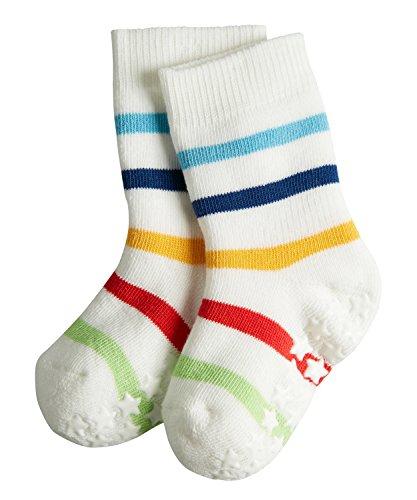 Falke Unisex Baby Multi Stripes Socken, Offwhite-Candy, 74-80