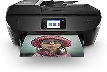 HP ENVY PHOTO 7830, Y0G50B, Stampante Fotografica Multifunzione a Getto di Inchiostro, Stampa, Scansione, Copia, Fax, Wi-Fi, Wi-Fi Direct, Ethernet, 6 Mesi di HP Instant Ink inclusi, Nera