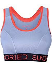 Sundried Padded Sports Bra For Yoga Gym - Crop Top by Ethical Activewear Brand