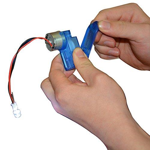 ChaRLes 6V Mini Hand Motor Motor Haft Mechanical Generator Diy Spielzeug Teile 6-volt-generator