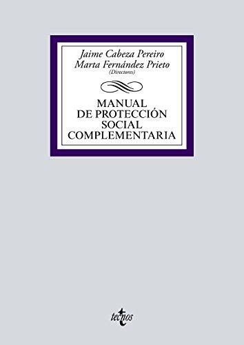 Manual de protección social complementaria (Derecho - Biblioteca Universitaria De Editorial Tecnos)