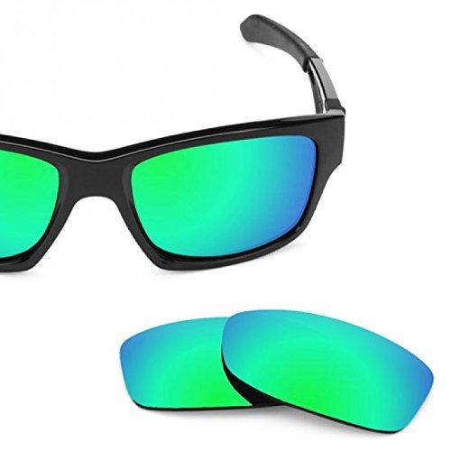 sunglasses restorer Basic Kompatibel Ersatzgläser Sapphire Green für Oakley Jupiter Squared