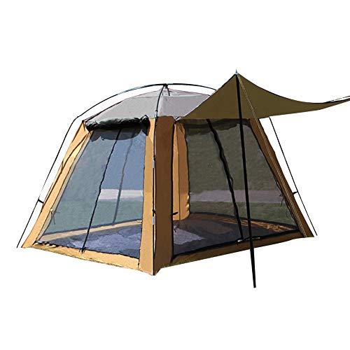 luckything Zelt Instant Tent Tourer 3-4 Personen,Outdoor Up Wurfzelt 3-4 Personen Zelt Camping Festival Wurfzelt Ultraleichtes Campingzelt,wasserdichtes Familien-Campingzelt