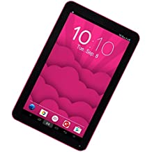 "Woxter SX 220 - Tablet con pantalla de 10.1""( Wi-Fi, Bluetooth 4.0, Cortex A7, 1 GB de RAM, memoria interna de 16 GB 2 GHz, Android 6.0) color rosa"
