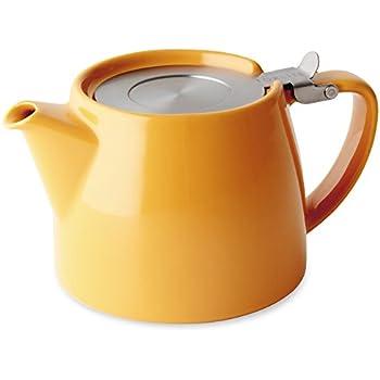 For Life Stump Teapot Mandarin 18oz