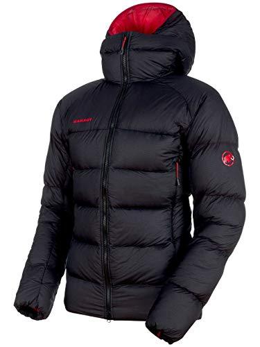 Mammut Herren Meron Daunen-Jacke, Black-Magma, XL