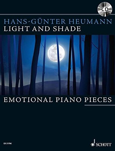 Light And Shade: 12 Emotional Piano Pieces. Klavier. Songbook mit CD.