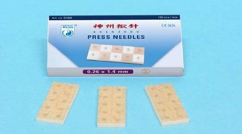 100 Shenzhou Dauernadeln, 0,20 x 1,4mm