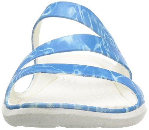 Crocs Damen Sandalen Blau
