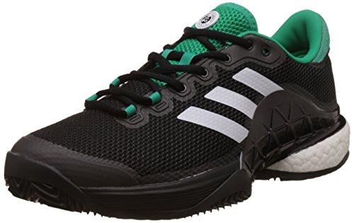Adidas - Barricade 2017 Boost Clay Textile Herren Tennisschuh Schwarz jNfRKJ